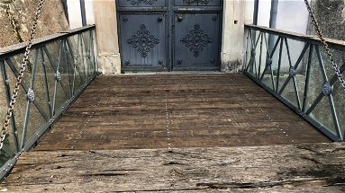 Restaurato il ponte ligneo del Castello Ducale di Corigliano