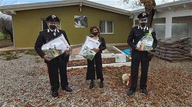 Carabinieri forestali in corsia, un Natale speciale per i piccoli degenti