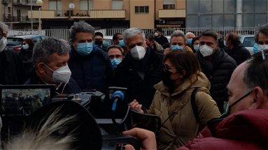 Sopralluogo del presidente Spirlì all'Ospedale di Cariati. Ora è tutto in mano a Longo?