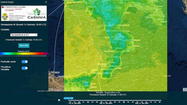 Arriva il gelo artico su tutto lo Ionio. In Sila previste temperature al di sotto dei 10 gradi