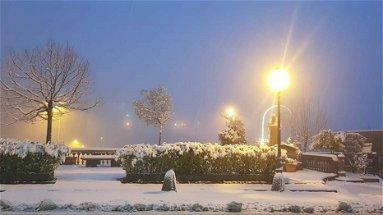 Sul Pollino è arrivata la neve tra gelo ed euforia