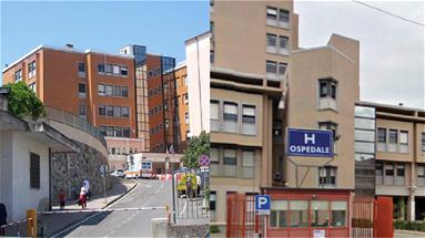 Carino ringrazia Misiti, Orrico e Scutellà per la donazione di unapompa da infusione allo Spoke di Corigliano-Rossano
