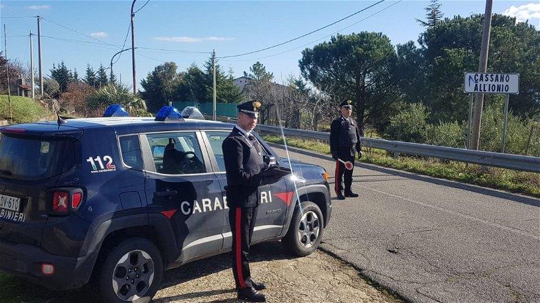 Aveva simulato una rapina: smascherato e denunciato dai Carabinieri