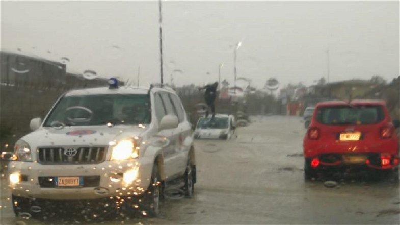 Calabria: maltempo, interventi della Protezione Civile nelle zone più colpite