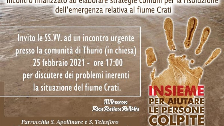 """Corigliano-Rossano, """"Movimento per la Vita"""" a supporto delle comunità di Apollinara e Thurio"""