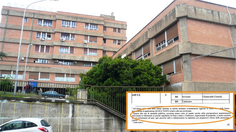 Trebisacce, l'ospedale è salvo... almeno per ora: c'è il correttivo al decreto 31. Mentre a Cariati non si arretra