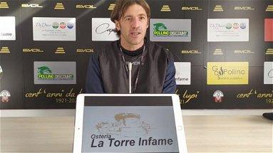 Castrovillari Calcio: finisce l'avventura di mister Franceschini sulla panchina rossonera