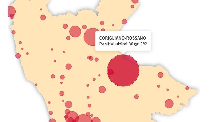 Covid, l'Asp finalmente pubblica i dati comune per comune... grazie a La Regina e a Rizzo
