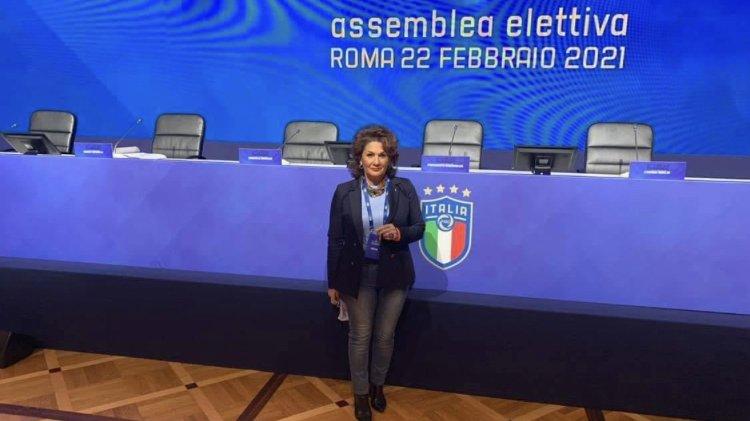 Amendolara:Maria Rita Acciardi riconfermata consigliere federale FIGC, insieme a lei Marotta e Lotito