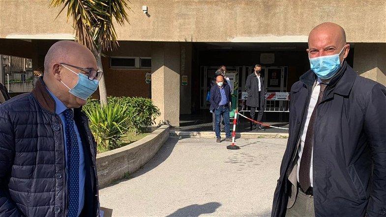 Il Commissario ad acta Urbani visita l'Ospedale di Trebisacce