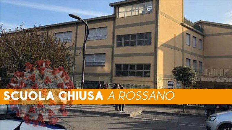 Emergenza Covid, da domani scuole medie chiuse a Rossano... la dirigente blinda l'istituto