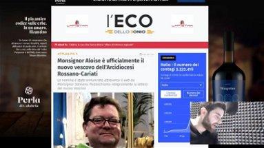 Il Caffè dell'Eco (Puntata 32) - Maurizio Aloise è il nuovo Arcivescovo di Rossano-Cariati