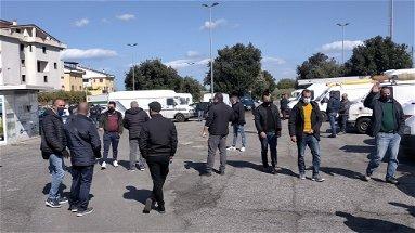 Sit-In degli ambulanti dell'intera fascia jonica cosentina a Rossano
