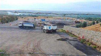 Cassano: al via la messa in sicurezza della strada di accesso alla discarica di contrada La Silva