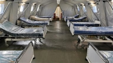 Riattivazione ospedale da campo di Cosenza, il ministro della difesa disponibile: «Dipende da Longo e Spirlì»