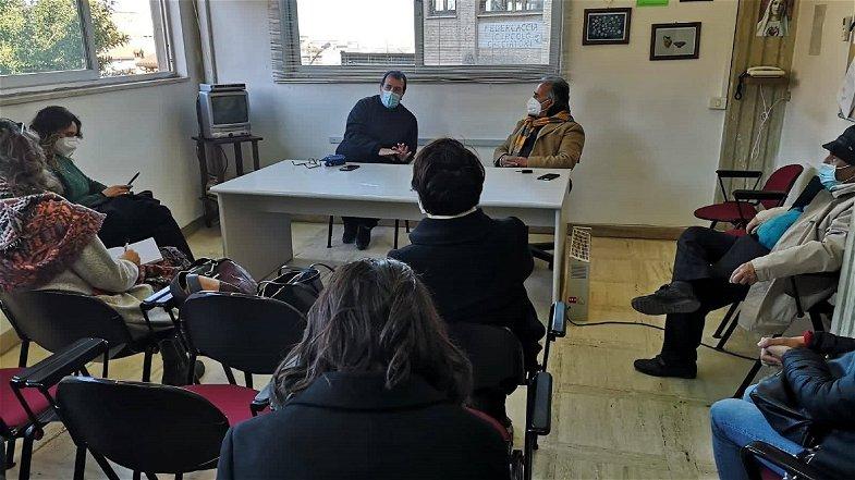 Amendolara, il nuovo direttore del Parco Archeologico Sibari in visita al museo