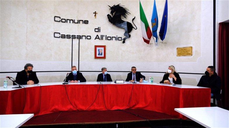 Cassano all'Ionio: visita istituzionale di La Regina