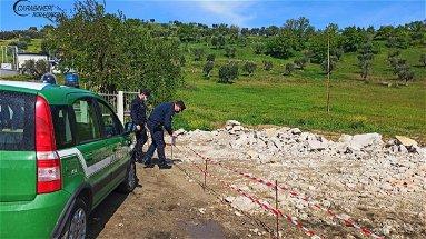 Mongrassano, smaltimento illecito rifiuti da demolizione