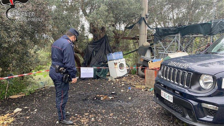 Lattarico, incendia rifiuti: denunciato