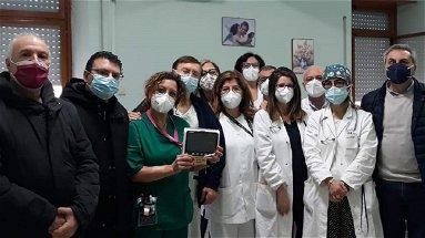 Una famiglia di Longobucco dona all'Ospedale di Corigliano un monitor multiparametrico