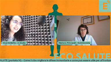 ECOSALUTE (puntata14) - Alimentazione e covid: Come il cibo rinforza le difese immunitarie e aiuta nella convalescenza post covid