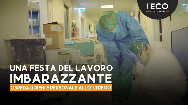 È una festa del lavoro imbarazzante: ospedali pieni e non si assumono medici!