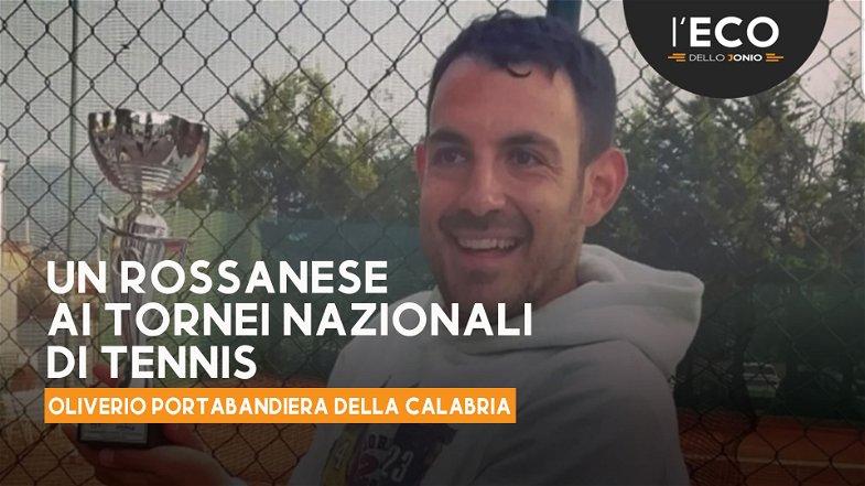 Il rossanese Oliverio alle finali nazionali del Campionato italiano di tennis