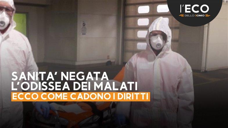 Con il femore rotto, nessun posto in Calabria... da Caloveto è finita a Policoro