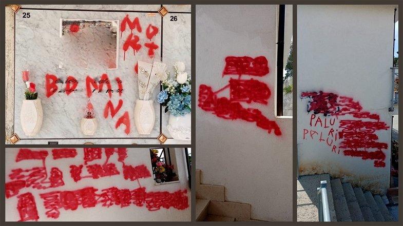 Cimitero di Rossano, tombe profanate e danneggiate