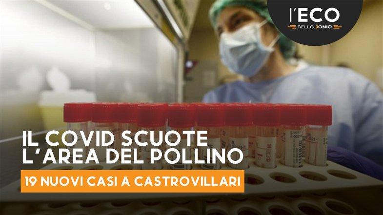 Emergenza Covid: oggi 40 nuovi casi sul Pollino,