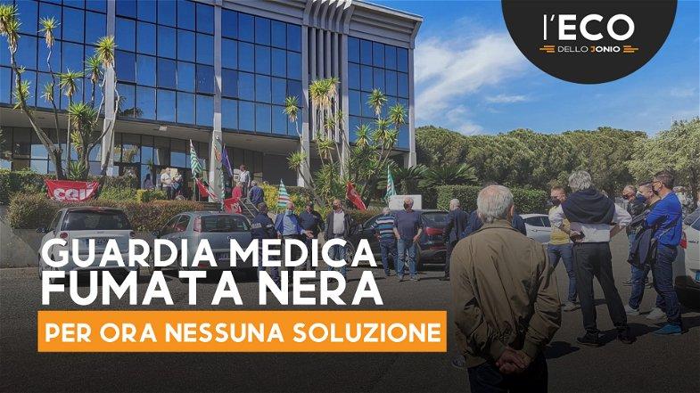 Longobucco scende in piazza (a Rossano) per protestare contro la chiusura della Guardia medica