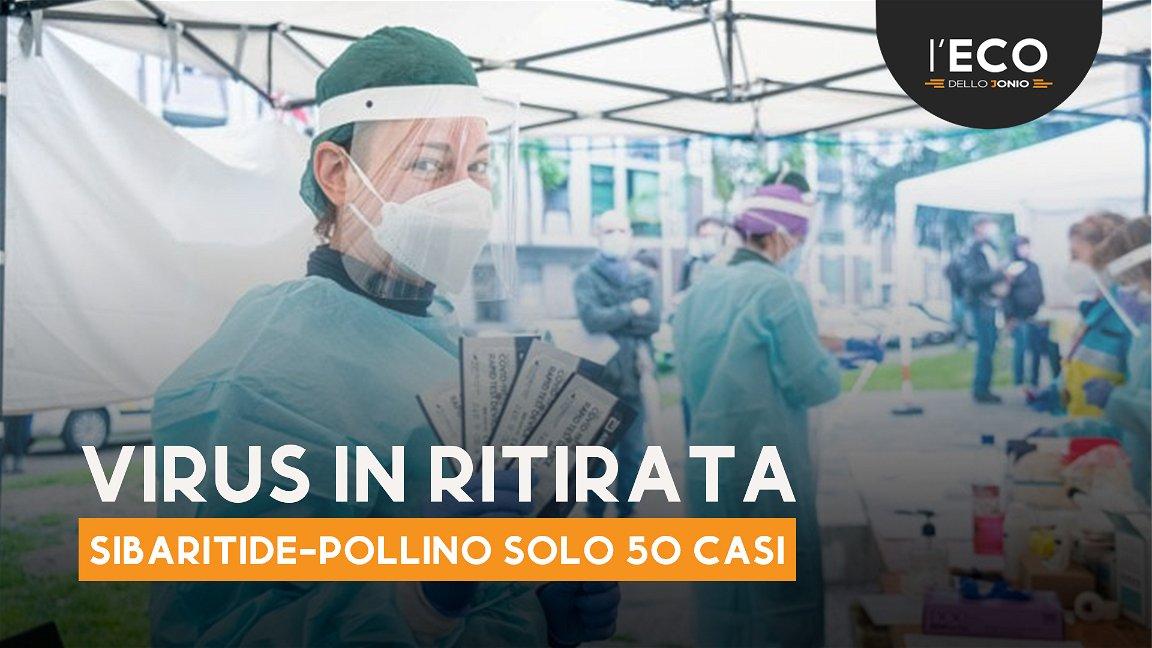 Covid: la Sibaritide conta 50 nuovi casi, 21 dei quali a Cassano Jonio