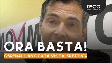 Sanità, Sapia chiede una visita ispettiva all'ospedale Spoke di Corigliano-Rossano
