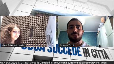 COSA SUCCEDE IN CITTÀ - Verso le Olimpiadi di Tokyo con il tuffatore calabrese Giovanni Tocci