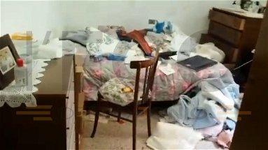 Pietrapaola, entrano nella notte in casa di un'anziana e le demoliscono l'abitazione