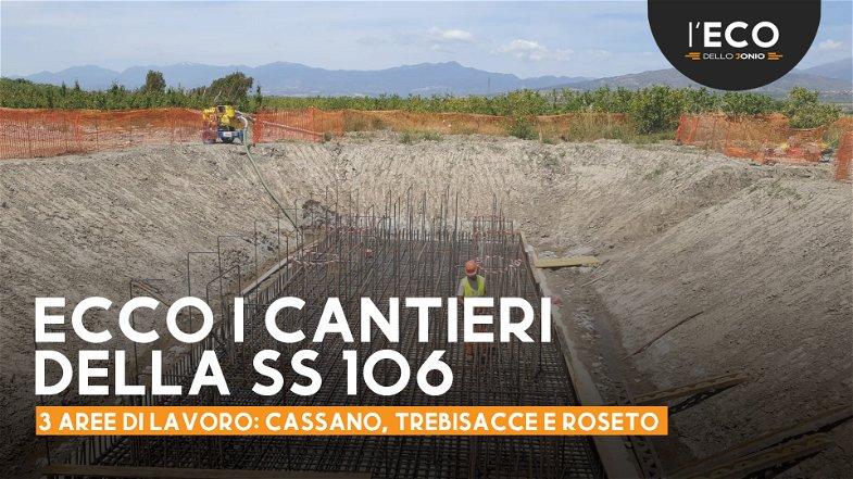 Terzo Megalotto Sibari-Roseto: cantieri aperti e già pronti a realizzare il primo viadotto - LE FOTO