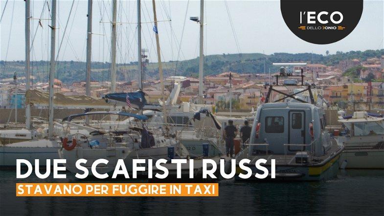 Sbarco a Cariati, fermati i due presunti scafisti: sono Russi