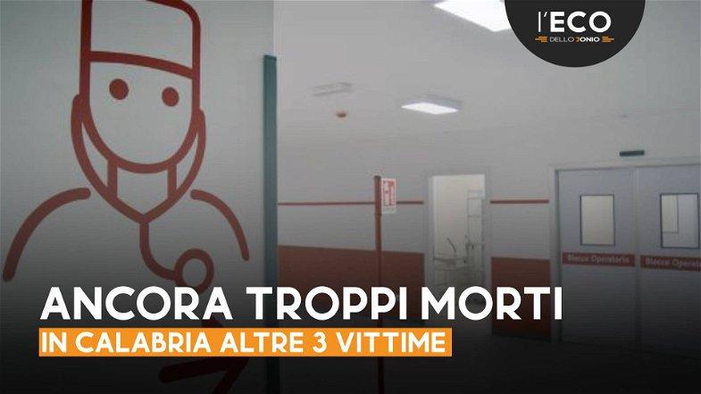 Covid in Calabria: la curva cala ma aumenta quella delle vittime (13 in tre giorni)