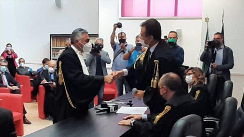 Castrovillari: si è ufficialmente insediato Massimo Lento, il presidente del Tribunale