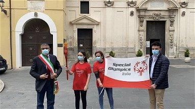 La Torcia Olimpica dei Giochi Nazionali Special Olympics #SmartGAmes fa tappa a Cassano