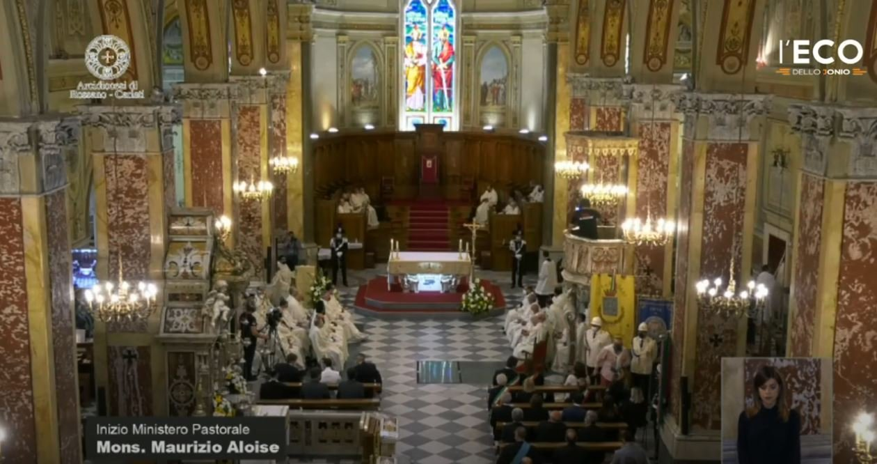 Santa Messa inizio Ministero Pastorale Mons. Maurizio Aloise
