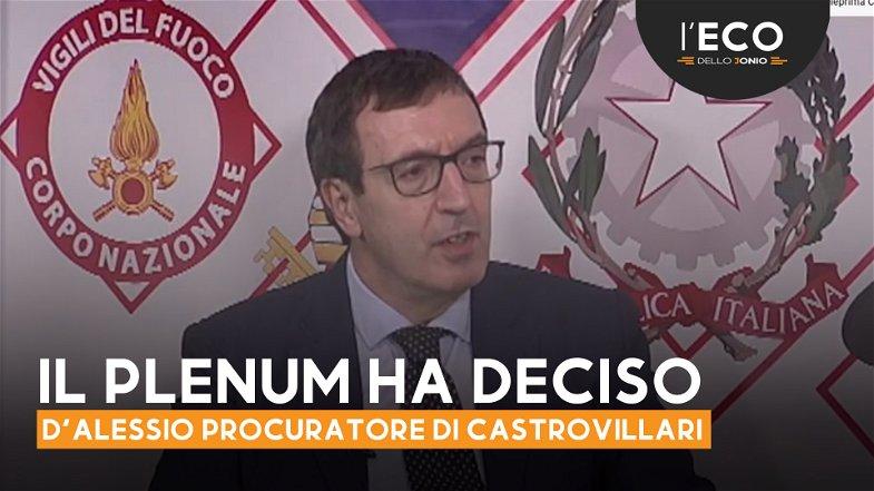 Il CSM nomina il procuratore capo di Castrovillari. È Alessandro D'Alessio