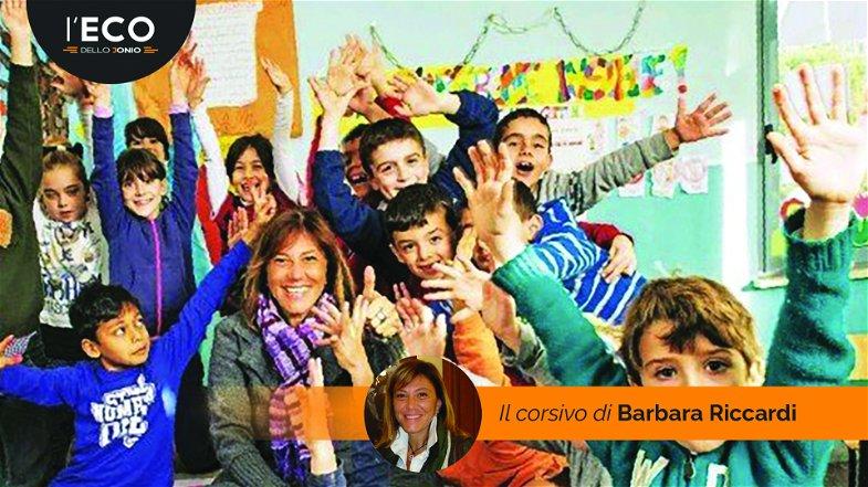 La maestra Barbara e la sua Missione per la scuola del gioco e della gioia