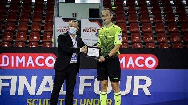 Il coriglianese Salvatore Freccia arbitro Finale Scudetto under 19 di calcio a 5