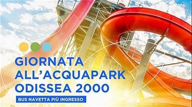 Andata e ritorno da Cosenza e ingresso all'Odissea 2000, tutto in un solo ticket