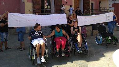Disabili di Corigliano-Rossano in piazza per chiedere una Città più accessibile