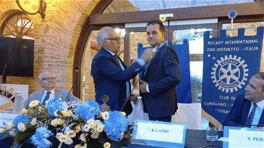 """Passaggio delle consegne al Rotary Club Corigliano-Rossano """"Sybaris"""""""