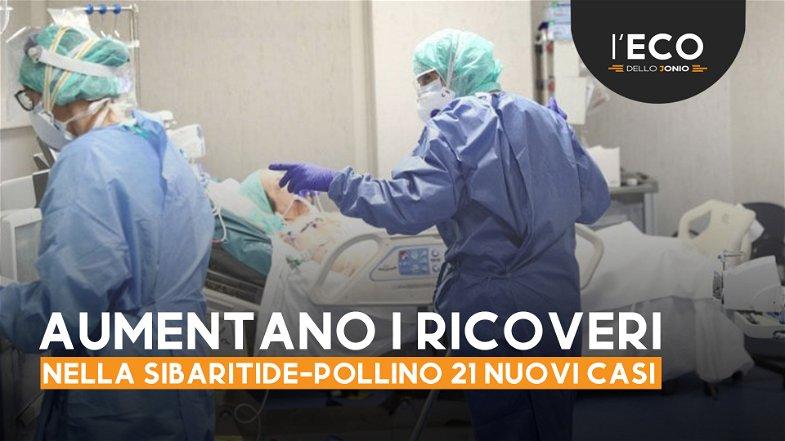 Covid, la Sibaritide-Pollino registra 21 nuovi casi
