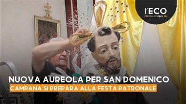 Una nuova aureola per San Domenico e Campana si prepara alla sua festa patronale
