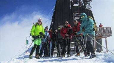 Il Club Alpino Italiano di Castrovillari ha raggiunto il rifugio più alto d'Europa